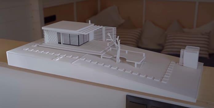 Декоративный макет мини-дома
