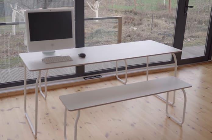 большой рабочий и обеденный стол